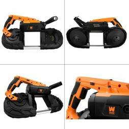 10-Amp 5-Inch Variable Speed Handheld Portable Band Saw for