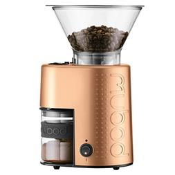 10903-73us-1 electric burr coffee grinder, copper