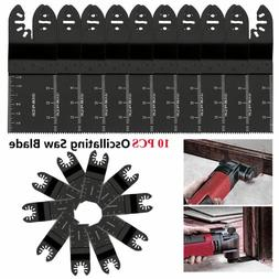 10PCS/Set 34mm Carbon Steel Saw Blade Oscillating Multi Powe