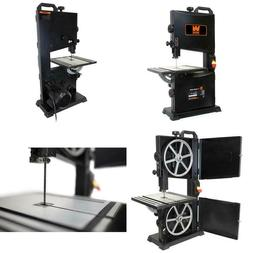 2.8 Amp 9 In. Benchtop Band Saw Cast Aluminum Table Tilts Up