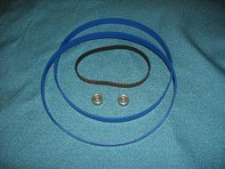 2 BLUE MAX BAND SAW TIRES DRIVE BELT AND NEW THRUST BEARINGS