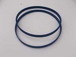 """2 BLUE MAX PRO SERIES BAND SAW TIRES FOR SKIL 9"""" BAND SAW 33"""