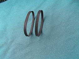 """2 BRAND NEW DRIVE BELTS FOR 9"""" DELTA 28-150C BAND SAW MADE I"""