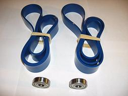 2 BLUE MAX BAND SAW TIRES AND THRUST BEARING SET FOR DELTA 2