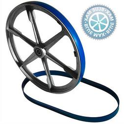 """2 BLUE MAX URETHANE BAND SAW TIRES FOR GENERAL MACHINE 14"""" 4"""