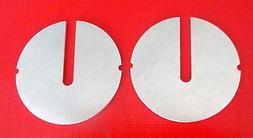 """2 New 14"""" Band Saw Table Inserts Fits Delta/Rockwell, Milwau"""