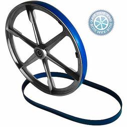 2 BLUE MAX URETHANE BAND SAW TIRES FOR TRADESMAN 10 Inch 2 W
