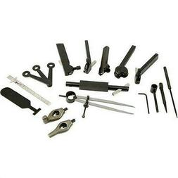 Shop Fox 20 Pc Small Metal Lathe Turning Boring Layout Tool