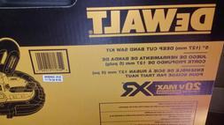 DeWalt 20 Volt Max XR Cordless Deep Cut Band Saw DCS374P2