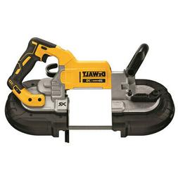 DEWALT 20V MAX XR Li-Ion 5 in. Band Saw  DCS374B New