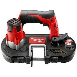 Milwaukee 2429-20 12-Volt Cordless 18 TPI Sub-Compact Band S