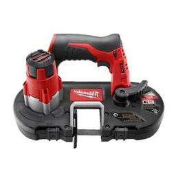 Milwaukee 2429-20 M12 Cordless Sub-Compact Band Saw Tool Onl