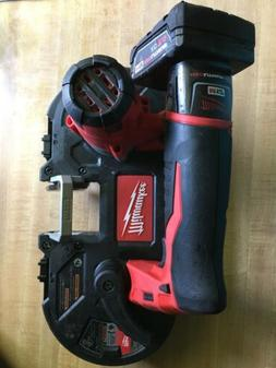 Milwaukee 2429-21XC M12 12-Volt Sub-Compact Band Saw w/ Batt