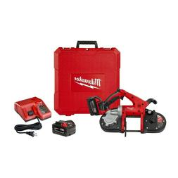Milwaukee 2629-22 M18 18V Portable Cordless Band Saw Kit