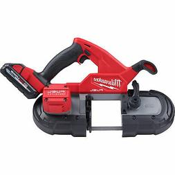 Milwaukee 2829-22 M18 FUEL Compact Band Saw Kit New