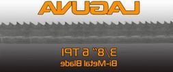 "3/8"" X 6 TPI X 106"" Bimetal BandSaw Blade Laguna Tools Metal"