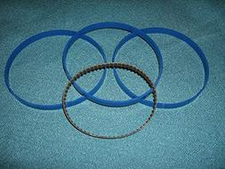"3 BLUE MAX BAND SAW TIRES AND DRIVE BELT FOR 10"" CRAFTSMAN 1"