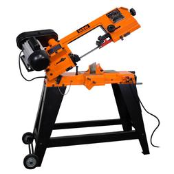 4.6 Amp 4 in. x 6 in. Metal-Cutting Band Saw with Stand