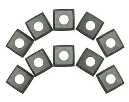 RIKON 25-599 4-Edge Helical Cutter Inserts for Staionary Pla