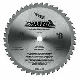 MILWAUKEE 48404515 Circular Saw Blade, Carbide, 8 In Dia, 42