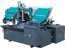 "Automatic 14"" Inch Band Saw Machine Horizontal CNC Metal Cut"