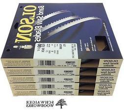 """Olson Band Saw Blades 99-3/4"""" inch x  Widths, Craftsman 2240"""
