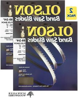 "Olson Band Saw Blades 99-3/4"" x1/2"", 3TPI for Craftsman 2240"