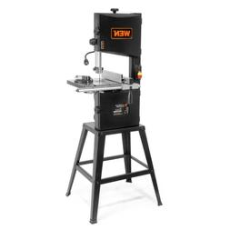 Band Saw with Stand and Worklight 3.5 Amp 10 in. 2-Speed
