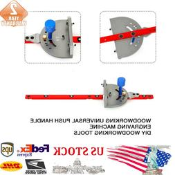 For Band Saws Hand-held Miter Woodworking Pusher DIY Tool US