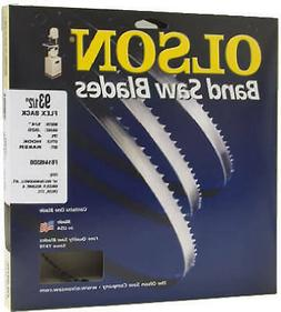 OLSON SAW Benchtop Bandsaw Blade, 3/8 x 59.5-In., 4-TPI 5725