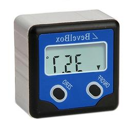 Digital Bevel Box Gauge Angle Protractor