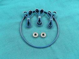 BLUE MAX BAND SAW TIRES THRUST BEARINGS AND DRIVE BELT CENTR