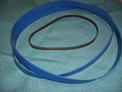 BLUE MAX HEAVY DUTY URETHANE BAND SAW TIRES SET AND DRIVE BE