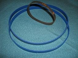 BLUE MAX URETHANE BAND SAW TIRES AND DRIVE BELT FOR SKIL 338