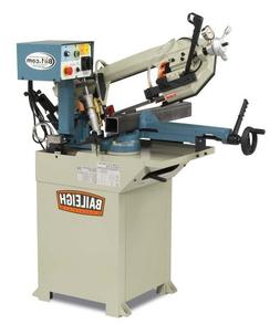 Baileigh BS-210M Hydraulic Horizontal Band Saw, 110V, 1hp Mo