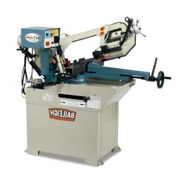 Baileigh BS-250M Hydraulic Horizontal Mitering Band Saw, 110