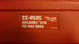 Milwaukee Case Only for M18 Bandsaw #2629. Blade included.