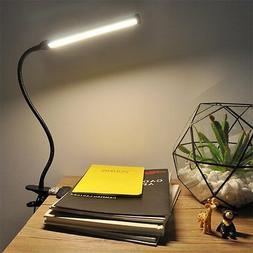 LEPOWER Led Clip on Light / Reading light with Gooseneck 6W