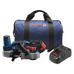 "BOSCH Cordless Band Saw Kit,Blade 2-1/2"" L, BSH180-B14"