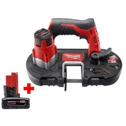 Milwaukee Cordless Sub Compact Band Saw 12 Volt Lithium Ion