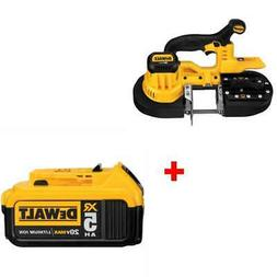DeWalt DCS371B 20V MAX* Li-Ion Band Saw with FREE 5.0 Batter