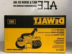 DEWALT DCS371B 20V MAX* LI-ION BAND SAW
