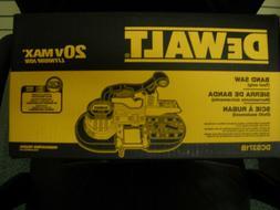 Dewalt DCS371B 20V Volt Max Cordless Bandsaw Li-Ion NEW IN B