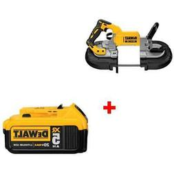DeWalt DCS374B 20V MAX Deep Cut Band Saw with FREE 5.0 Batte