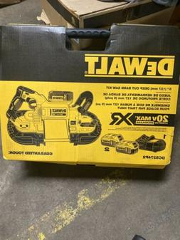 DEWALT DCS374P2 20v Max Deep Cut Band Saw Kit