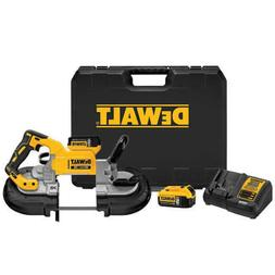 DEWALT DCS374P2 20V MAX Deep Cut Band Saw Kit  Batteries 5Ah