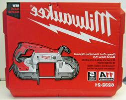 Milwaukee Deep Cut Variable Speed Band Saw Kit with Case 623