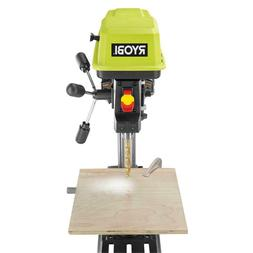 Ryobi 10 in. 5-Speed Drill Press w/ Laser & LED, Woodworking
