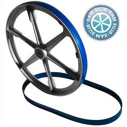 "ENCO 14 INCH URETHANE BAND SAW TIRES 7/8"" WIDE    2 NEW BLUE"