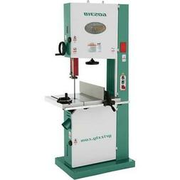 "G0531B Grizzly 21"" 5 HP Industrial Bandsaw with Brake"